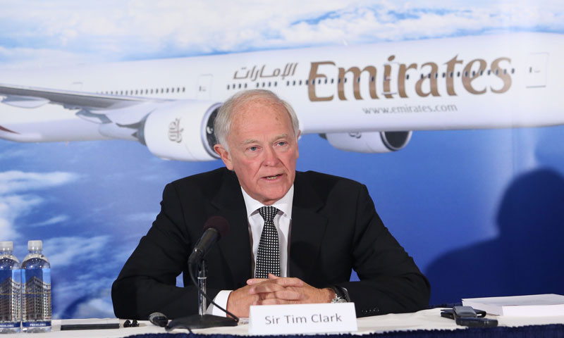 Sir Tim Clark Emirates Airlines
