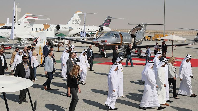 MEBAA aviation show